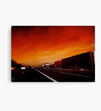 Red Jam Canvas Print