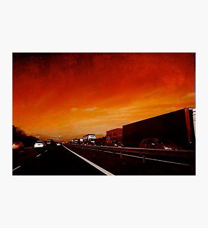 Red Jam Photographic Print