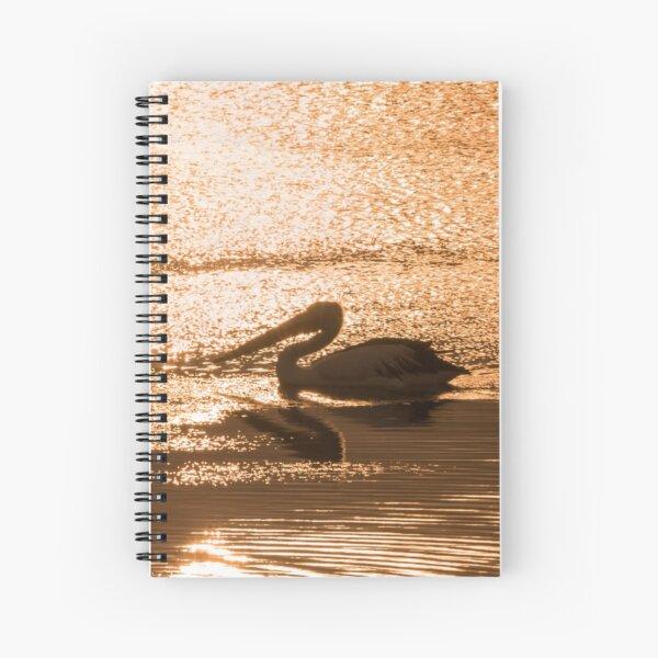Pelican_0066 Spiral Notebook