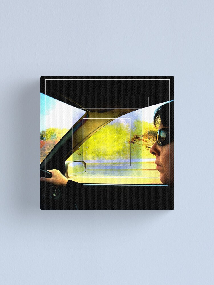 Alternate view of The Driver Canvas Print
