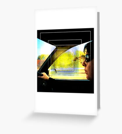 The Driver Greeting Card