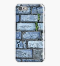 Blue cobblestones iPhone Case/Skin