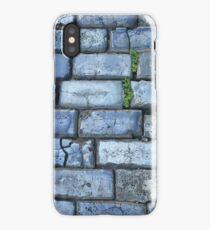 Blue cobblestones iPhone Case/Skin