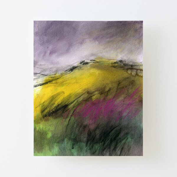 White Tor, Derwent Edge - Peak District Landscape art Canvas Mounted Print