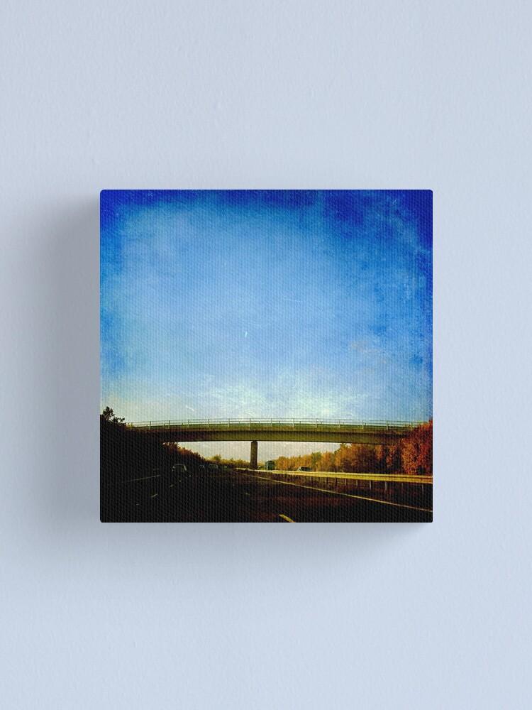 Alternate view of The Bridge Canvas Print