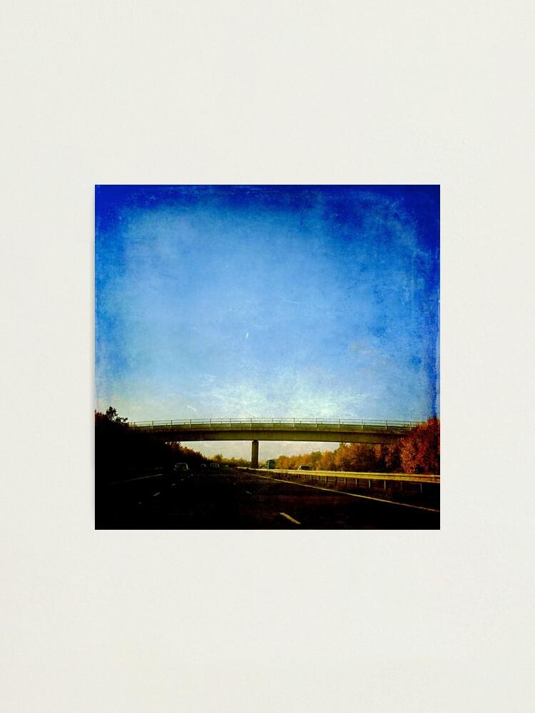 Alternate view of The Bridge Photographic Print