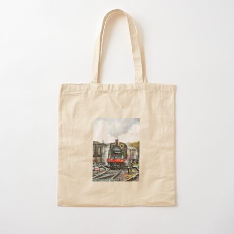 Engine 263 steaming Cotton Tote Bag