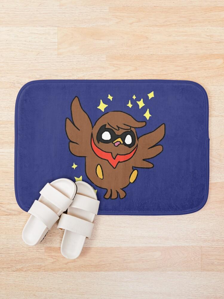 Alternate view of Nightwing Bath Mat
