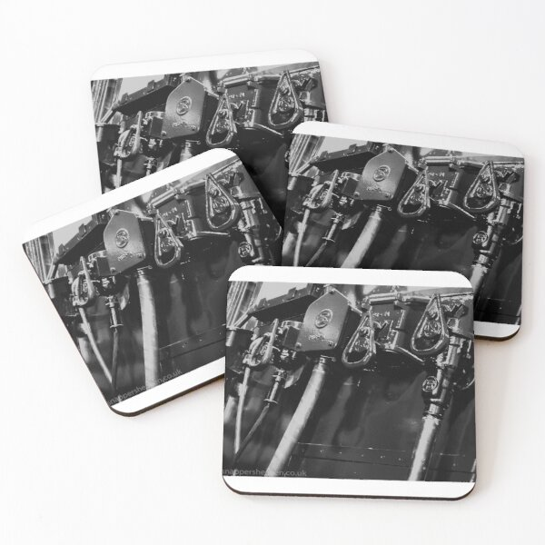 Switches and controls  Coasters (Set of 4)