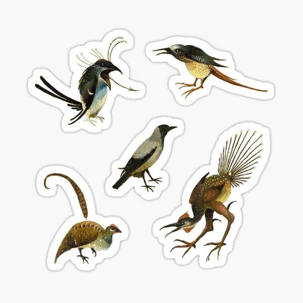 Garden of Earthly Delights Birds of Bosch Sticker