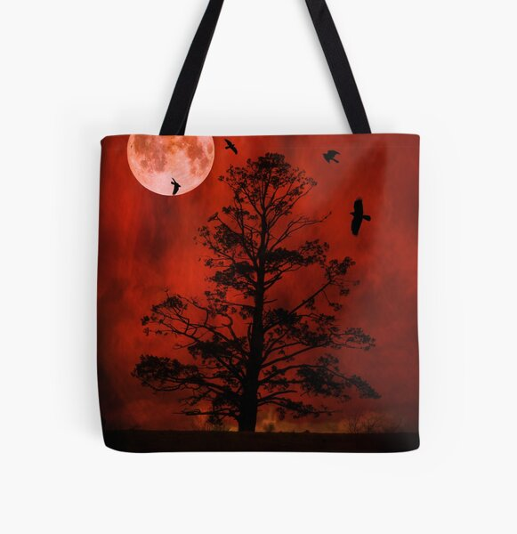The Witching Tree All Over Print Tote Bag