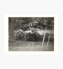 From The Dust Of The Old Trail Art Print