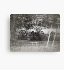 From The Dust Of The Old Trail Metal Print