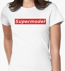 Supermodel Womens Fitted T-Shirt
