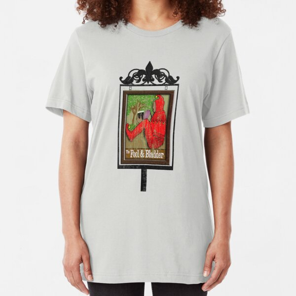 The Fool and Bladder Slim Fit T-Shirt