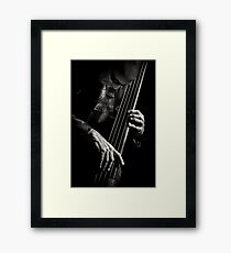 L'image - Tony Levin & bass Framed Print