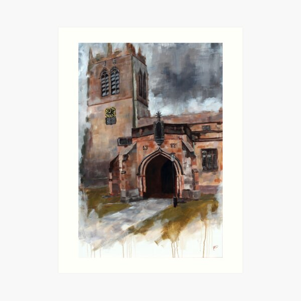 The Cathedral of the Dales Art Print