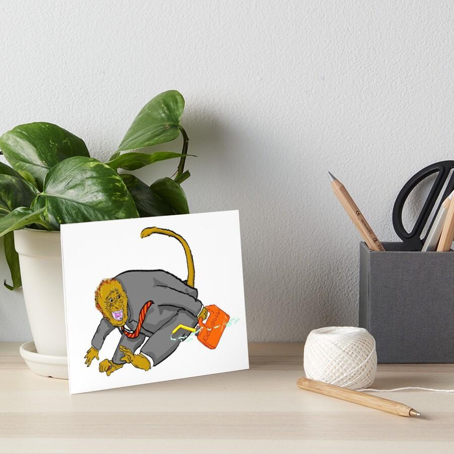 ape Art Board Print