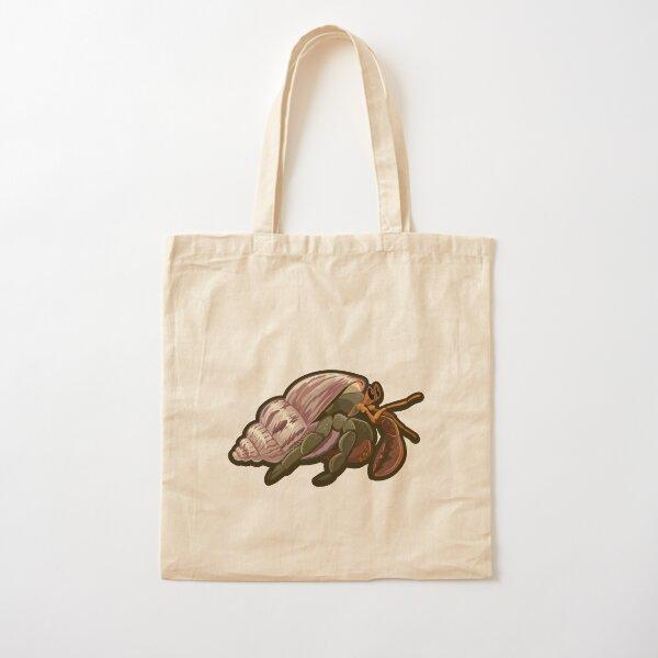 hermit crab Cotton Tote Bag