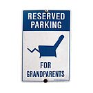 Reserved for Grandparents by lgraham