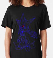 Neo Metal Sonic [Lines] Slim Fit T-Shirt