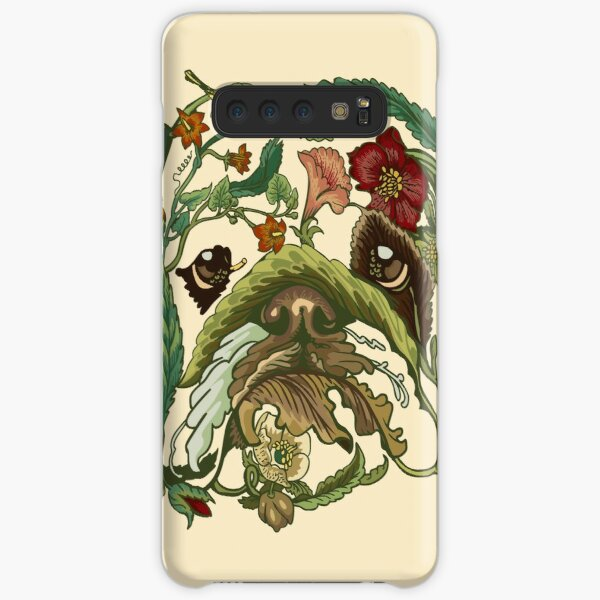 Botanical English Bulldog Samsung Galaxy Snap Case
