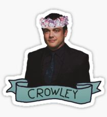 Crowley, the king of hell Sticker
