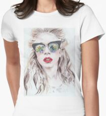 GIRL Women's Fitted T-Shirt