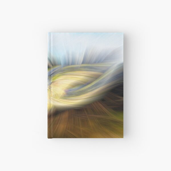 Welsh Mountains Abstract - 1  Hardcover Journal