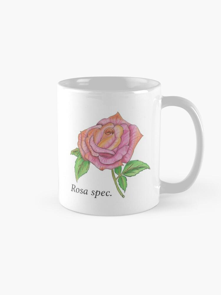 Alternate view of Colorful Rose Mug