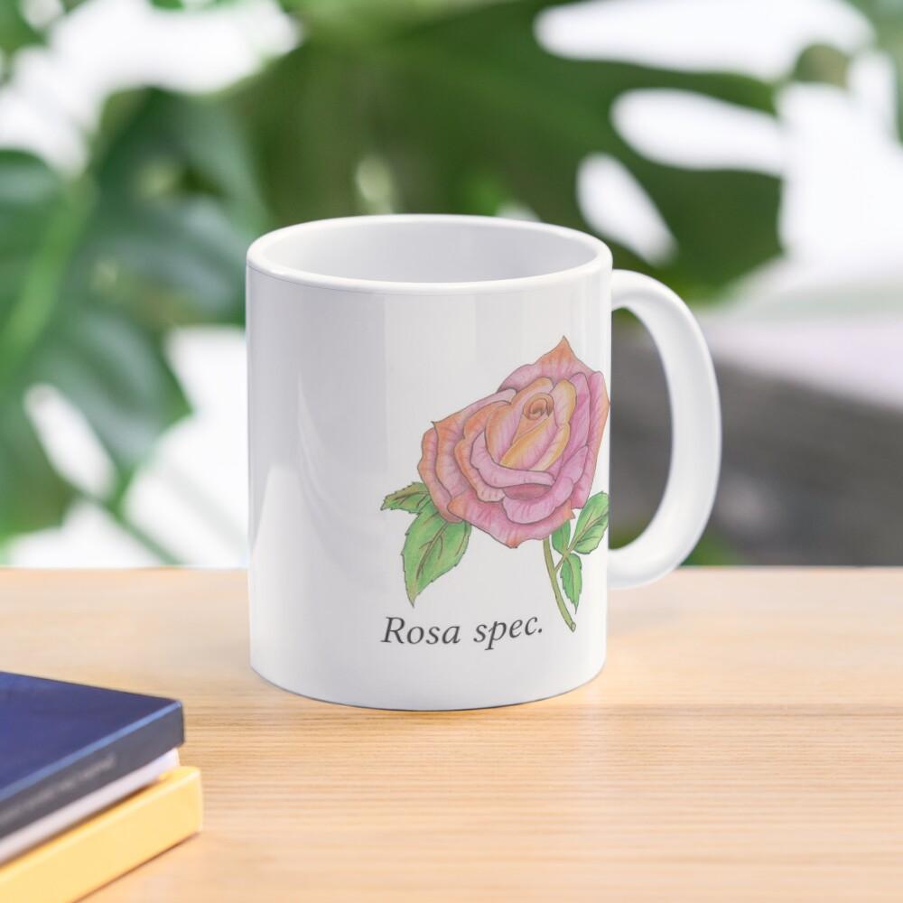 Colorful Rose Mug