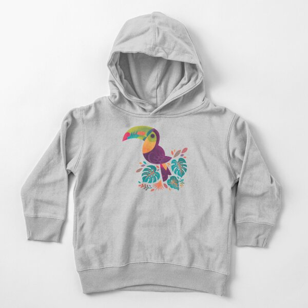 Tropical Toucan 2 Toddler Pullover Hoodie