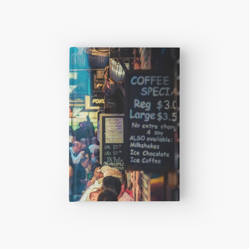 Centre Place  redux Hardcover Journal