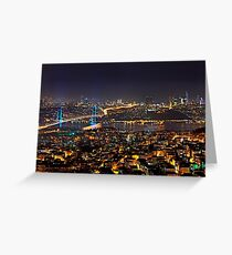 Connecting Continents Greeting Card