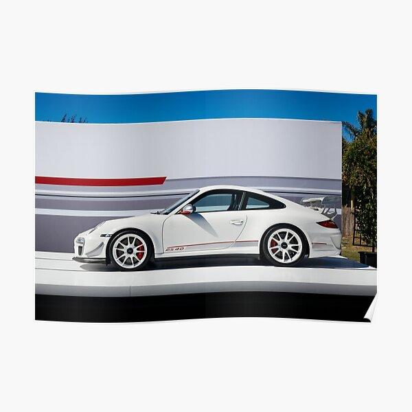 PORSCHE GT3 RS Autos Sportwagen Abstraktes Bilder Leinwand Wandbild XXXL 1865A