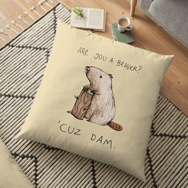 Dam Floor Pillow