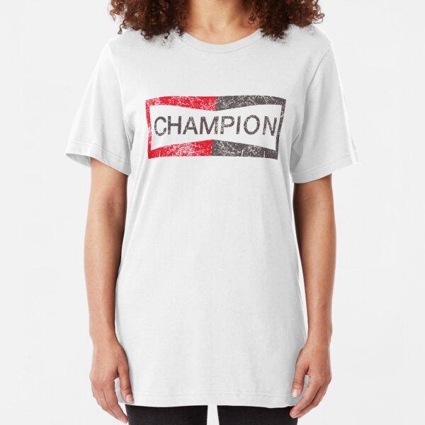 champion vintage brad pitt tees Slim Fit T-Shirt