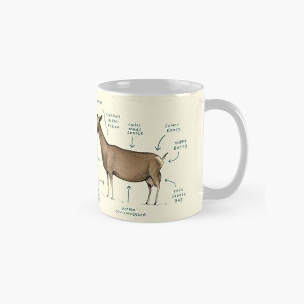 Anatomy of a Goat Classic Mug
