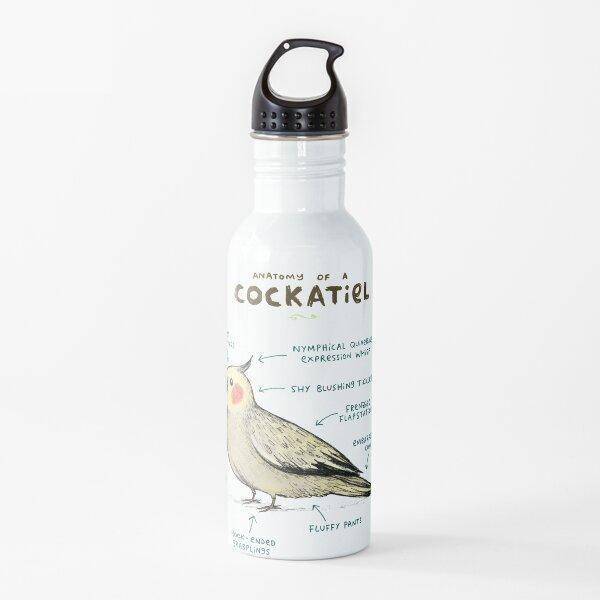 Anatomy of a Cockatiel Water Bottle