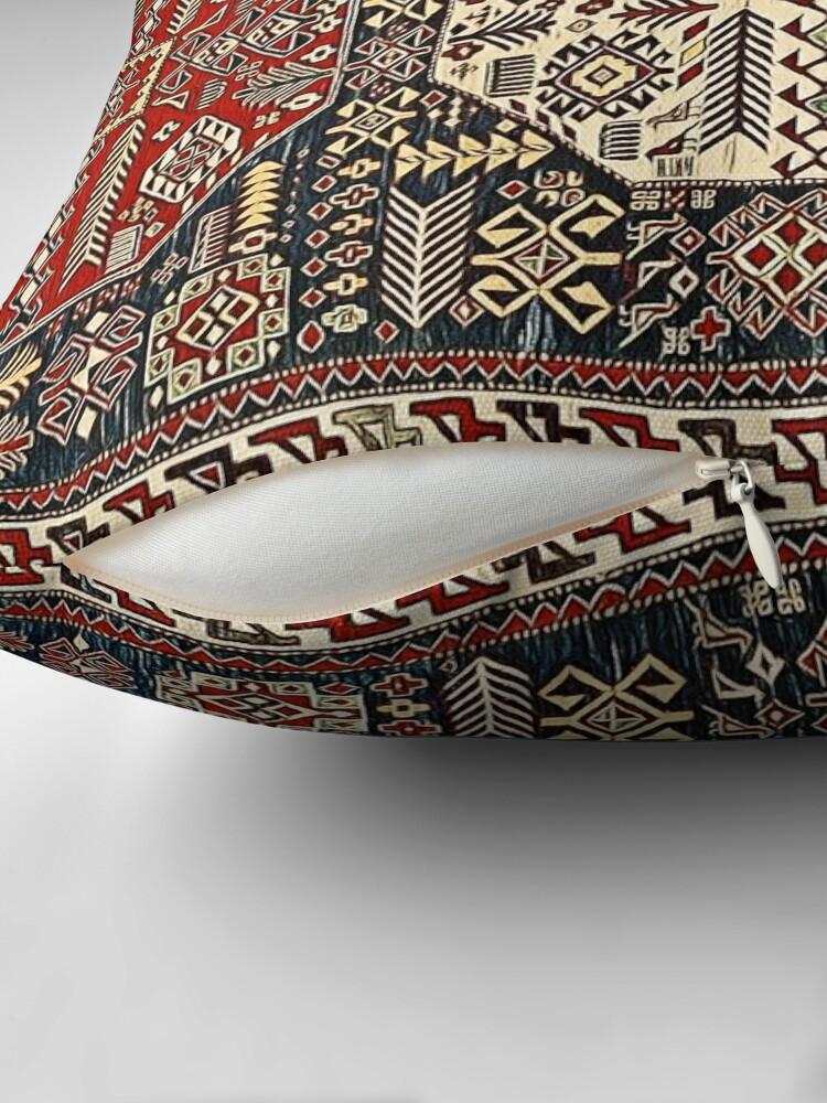 Alternate view of Armenian folk Art 8 Throw Pillow