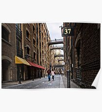 37 Shad Thames Poster