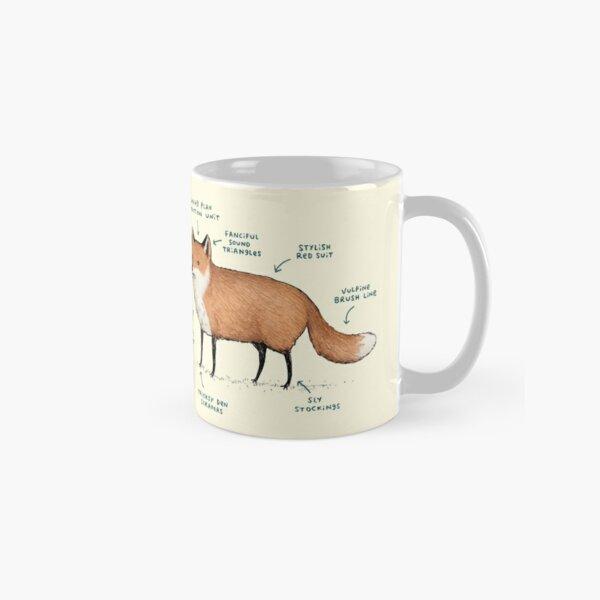Anatomy of a Fox Classic Mug