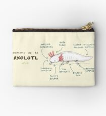 Anatomy of an Axolotl Zipper Pouch
