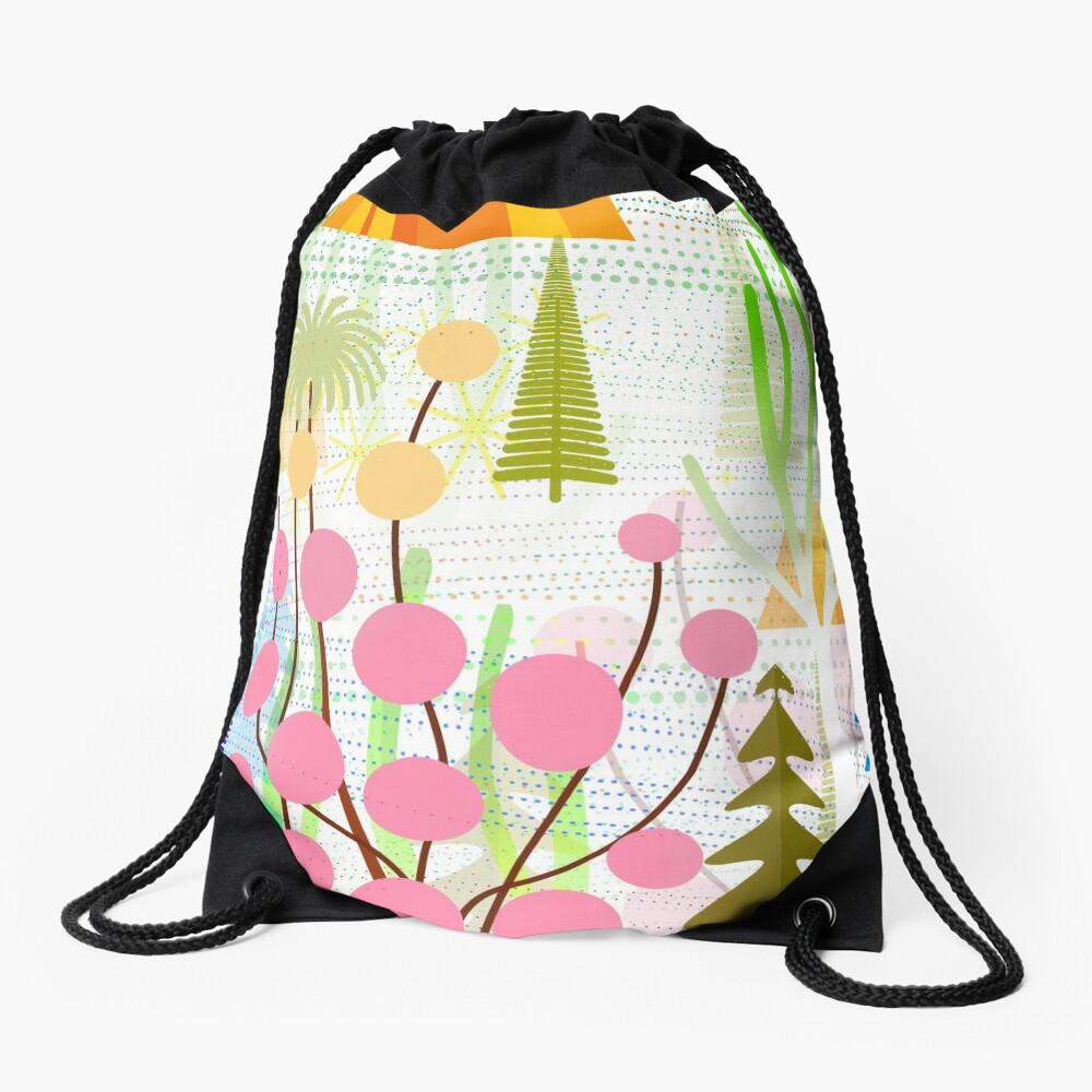 Fresh Day Drawstring Bag