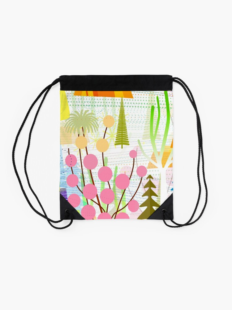 Alternate view of Fresh Day Drawstring Bag