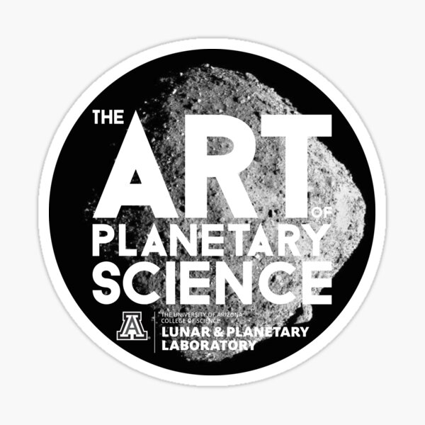 The Art of Planetary Science 2019 Sticker