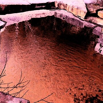 Red Pond by Gigakig