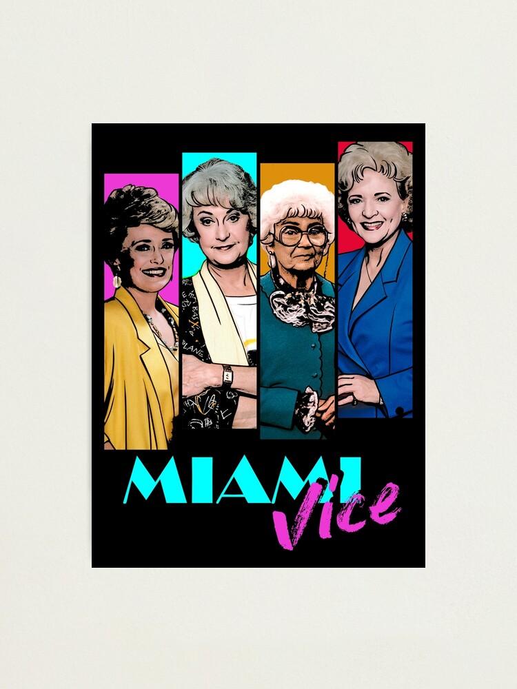 Alternate view of Miami Vice Photographic Print