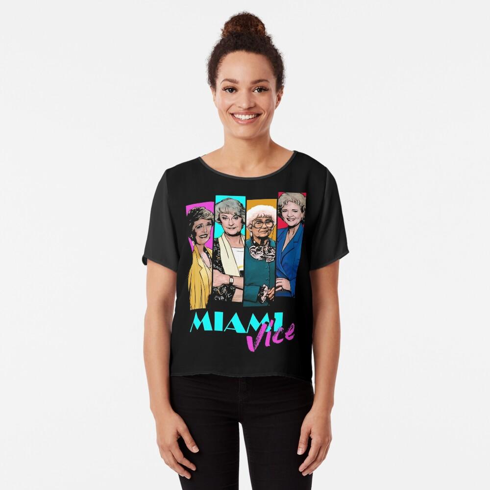 Miami Vice Chiffon Top