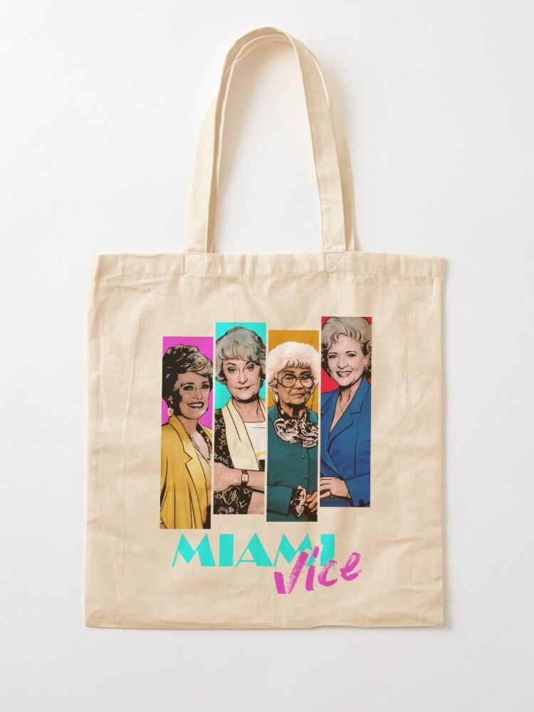Alternate view of Miami Vice Tote Bag